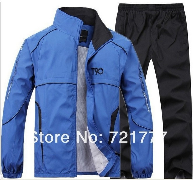 Drop Shipping High Quality Fashion Brand Man Jacket Double-Sided Wear XL ,XXL ,XXXL,XXXXL,winter jacket sportswear suit 2014(China (Mainland))