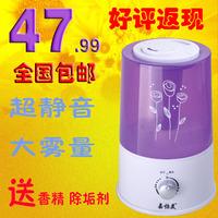 Mini air humidifier home air purification mute household essential oil