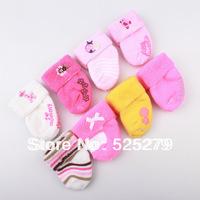 6pair /lot Free Shipping Children Cute Cartoon Animal Cotton Short Socks Cartoon Infant Baby Girl Socks Baby Socks Multicolor