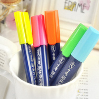 High quality product hearts . jelly neon pen solid doodle marker pen bag korea stationery