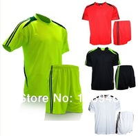 [Bella Sports] Men's Soccer Jerseys Soccer Training Suit(Shirt+Pants) Quick Dry Polyester Short Sleeve Soccer Uniforms 1MZ0006