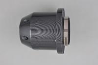 "3.0"" Inlet 6"" Base 5.5"" Tall Universal Carbon fiber  Bullet Car Air Filter  [QPL137]"