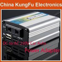 Freeshipping DC to AC 220V Car Auto Power Inverter Converter Adapter 200W USB Car Power Inverter Adapter