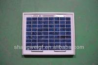 4W  SOLAR PANEL charging 12v battery