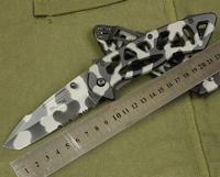 Buck 870 Framework CAMO Folding Pocket Knife, Hunting Camping Knives  Free shipping