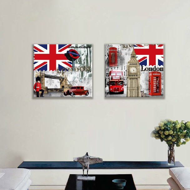 Shop popular wall street style from china aliexpress - British paints exterior decor ...