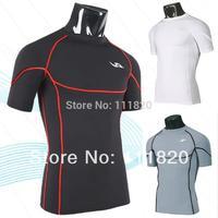 shorts men sports swimming t shirt man running jogging gym TSHIRT sport satin cool T-SHIRTS underwear