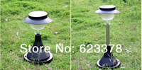Free Shipping DHL 8pcs/lot Solar energy Lawn Lamp courtyard lamp led outdoor ultra bright landscape lamp solar street light CPD1