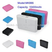 Wholesale 10400power Bank Backup Battery Charger For Mobile Blue Color