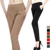2014 summer harem pants women plus size fashionable casual female trousers Drop Shipping