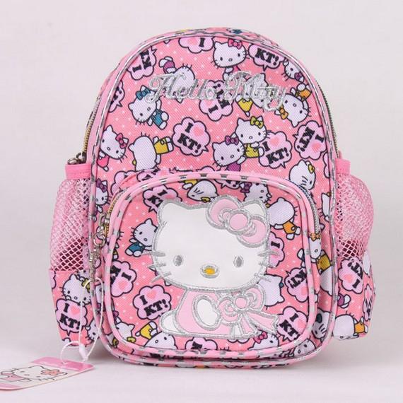 Free shipping mini size backpack /hellokitty school bag/ hello kitty backpacks,little girl school bag, wholesale KT138003(China (Mainland))