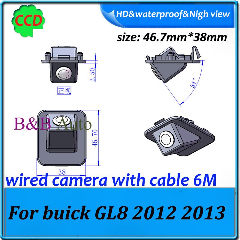 car rearview parking back camera for buick GL8 2012 2013 Car Reverse backup Camera CCD HD(China (Mainland))
