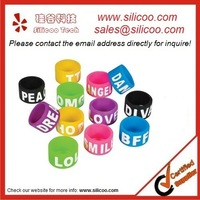 silicone wristbands,fashionable finger rings,logo printed,embossed,debossed,color filled,1000pcs,fast delivery