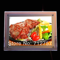 Resturant fast food led menu board,illuminated led menu board