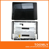 Free Shipping New Original Laptop LCD Back Cover for HP DV7 Black Color -- Hinges NOT Included