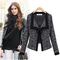 2014 Spring Autumn&Winter, European Style Top Grade Linen Ladies Cardigan, Womens Jacket Coat