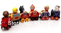 Anpanman train, magnetic car Small train magnetic car