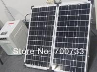 80w MONO solar panel specifical for solar back up power 40W*2 units foldable solar modular