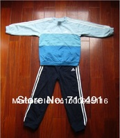 2014 More New Retail Children's Clothes Set kid's boys Cartoon pajamas Printing t-shirt+pants
