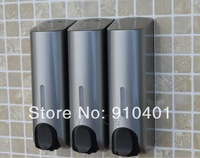 Hot Sale Wholesale And Retail Promotion NEW Bathroom Hotel ABS Wall Mounted Liquid Shampoo/ Soap Dispense 3 Soap Holder