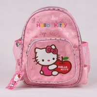Hello kitty Cartoon Bags Girls Pink school bag for child backpack bag For kindergarten Children Free Shipping KT0903
