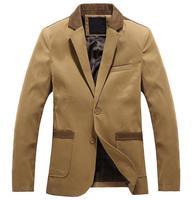 Hot Spring 2014 blazer men mens blazers jacket New designs casual brand fashion male coat men clothing long sleeves jacket S537