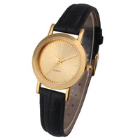 Free Shipping Quality Women Quartz Leather Strap Watches Female Clock Sweetheart Casual Analog Relogio Wristwatches