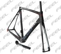 2014 Super King carbon road frame DI2 carbon DE Rosa 888 bike frame.De rosa Toray carbon road bike frame with free shipping