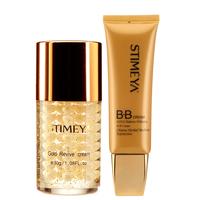 24k gold facial kit, anti-aging cream-And gold BB cream 2 bottles