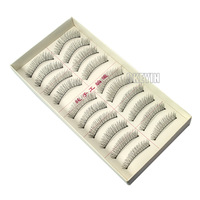 0.36-FE011H-2 2pcs*10 Pairs Handmade Fake False Eyelash Natural Look eyelashes 0.36-FE011H-2