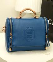 Free shipping!HOT!!!2014 women's candy color handbag vintage fashion one shoulder small bag preppy style vintage messenger bag
