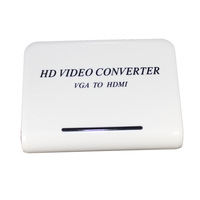 promotion!HDMI TO VGA + AUDIO HD HDTV Video Converter Box 1080P support HDCP 1.3  Free shipping