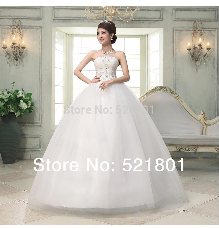 New modern minimalist wedding dress korean straps wedding dress was