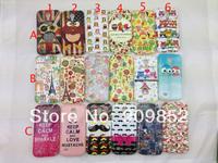 Lovely Owl Style Soft tpu IMD Case For Samsung Galaxy S4 mini i9190,10pcs/lot Free shipping