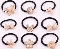 6pcs Free shipping Alloy hair bands Pearl hair band  hair jewelry Headdress