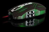 2014 NEW Suzaku usb gaming mouse+800/1200/1600/2400 DPI +USB 3D Professional Competitive Gaming 9 Buttons Mice