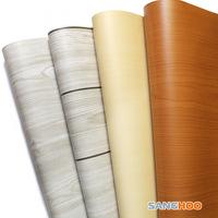 Pvc wallpaper waterproof stickers wardrobe furniture stickers kitchen cabinet wood stickers 10 meters