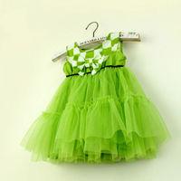 Details about 2014 Baby Girl Braces Skirt Toddler Kids Princess Lace Tutu Puffy Dress Sundress