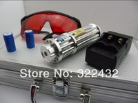 free shipping - blue laser pointers 30000mw 30W 450nm burn match/pop balloon/cigarettes+battery+changer+gift box