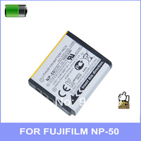 High-quality Battery for NP 50 Original 1:1 NP-50 NP50 Battery for Fujifilm FinePix X10 X20 XF1 F900EXR F800EXR 2pcs/lot