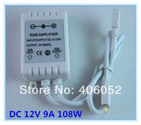 10pcs/lot Power LED RGB Amplifier RGB Controller DC 12V 9A 108W for 5050 3528 SMD RGB LED Strip Light