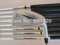 APEX PRO Forged Golf Irons set with Steel shaft 3-9, P A 9PCS Golf Clubs Freeship