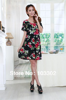 summer dress fashion 2014 Bohemia  cute Floral Dress dress skirt