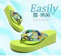 Free Shipping Women's slipper Summer Beach Flip Flops Lady Slippers Sandals Flip Flops platform