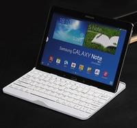 Original Aluminium Mental Thin Stand Wireless Bluetooth ABS Keyboard For Samsung Galaxy Note 10.1 2014 Edition P600/P601/P605