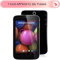 7 inch Android 4.2 Phone Call tablet pc Dual Core MTK6572 Wifi BT Built-in GPS OTG 2G Phone Call Dual Cameras