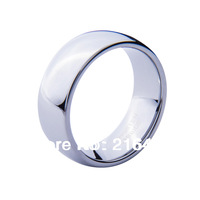 Hot Selling Tungsten Carbide Dome Wedding Engagement Band Promise Ring Mens Classic High Polished Size 7-13 Free Shipping