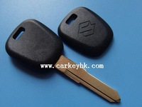 40pcs/lot  Suzuki transponder key shell blank cover case fob