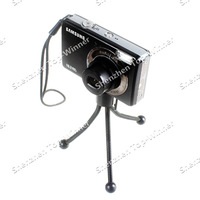 New Arrival Universal Mini Flexible Tripod Stand Holder for Digital Camera DV Black Free Shipping&Wholesales