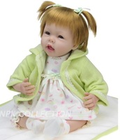 50CM  Silicone baby toy Children's Day gift toys for children dolls for girls reborn baby doll  Birthday Gift Free shipping